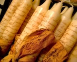 French Candles - Hand Stamped - IVORY - Ooh La La - Paris, France - xo