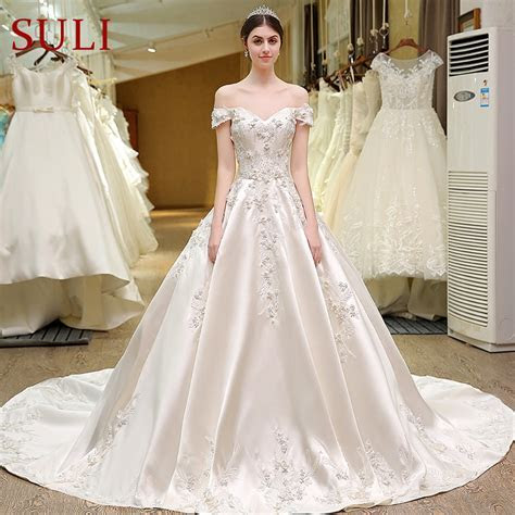 Aliexpress.com : Buy SL 82 Sweetheart Bling Bridal Gowns