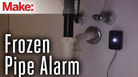 Prepare Your Plumbing for Winter with This DIY Frozen Pipe Alarm