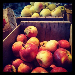 Day 15 #october #yarnpadc Edible - #apples at the #farmstand