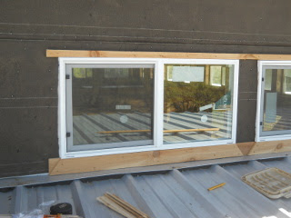 Upper Window Trim Top & Bottom