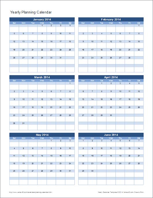 Google Calendar Year Planner : Vertex google