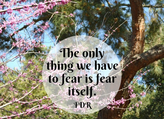 The Only Thing We Have To Fear - Simple Sojourns