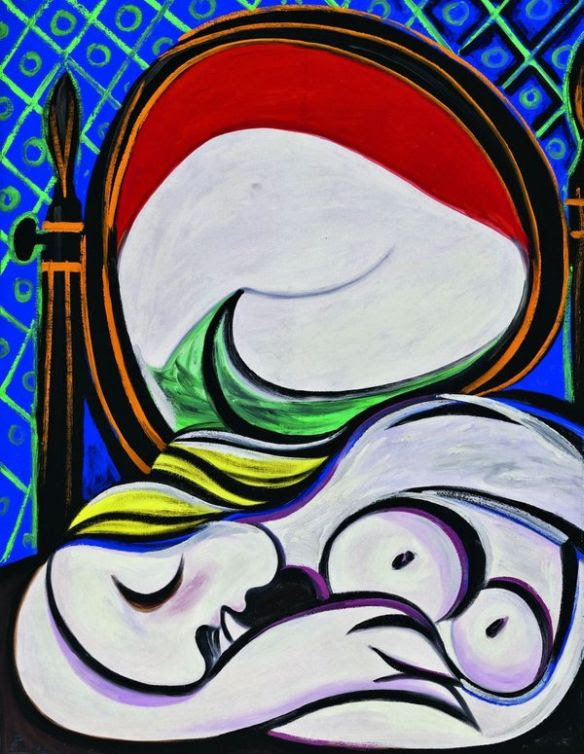 Pablo Picasso, The Mirror (Le Miroir)