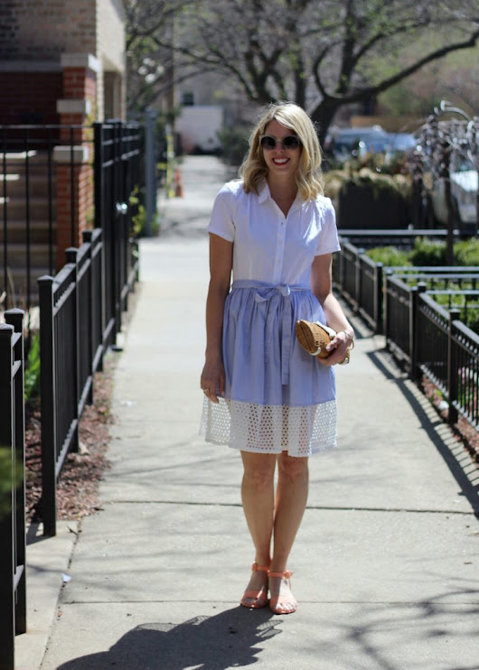 Spring Styled: Shirtdress - The Kissing Booth Blog