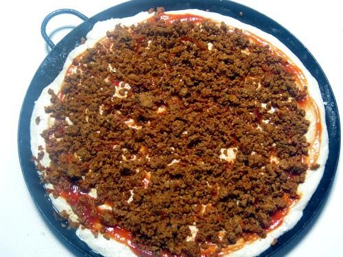 Mexican Pizza Prep 1