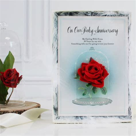 Ruby Wedding Anniversary Gifts For My Wife   Lamoureph Blog