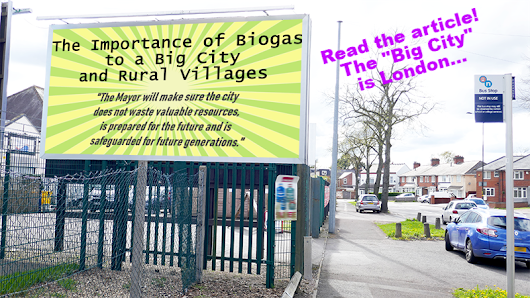 The Importance of Biogas to a Big City and Rural Villages - AD Blog