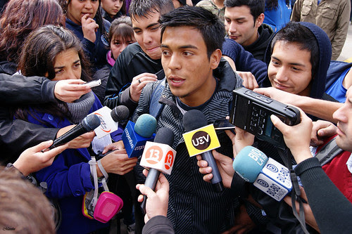 Dario Avendaño, vocero secundario by Alejandro Bonilla