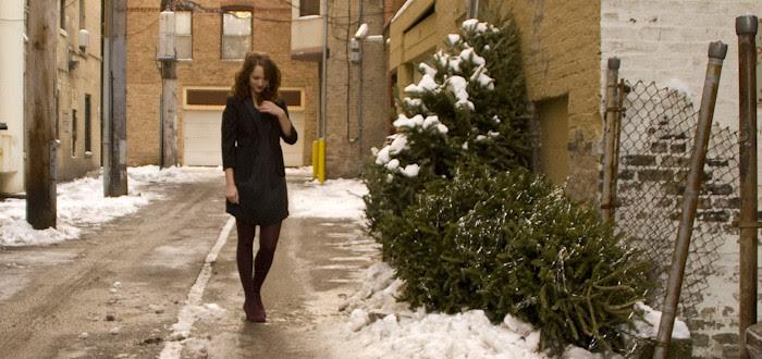 dash dot dotty, outfit blog, ootd, burgundy, black, tuxedo jacket, wedges