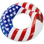 """Swimline 36"""" Americana Pool Tube Float"""