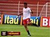Atacante Hernane sofreu luxação no ombro esquerdo no final da partida em Lins