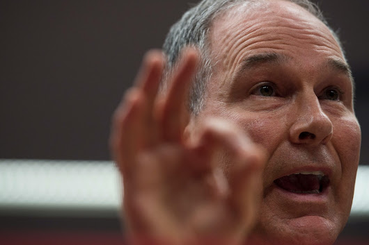 "Scott Pruitt Has Spent a Total of $4.6 Million on Security, New Disclosures Show — Including $1,500 on ""Tactical Pants"""