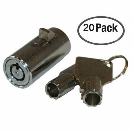 Details about 20 Universal Tubular Soda Snack Vending Machine Cylinder Plug Lock NEW