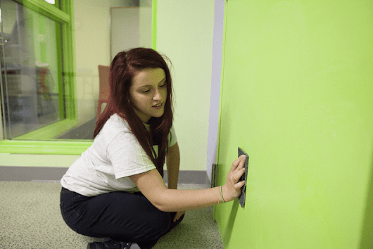 How to (Properly) Clean Your Office's Painted Walls - The Abbey Cleaning Service