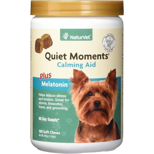 NaturVet Quiet Moments Calming Aid Dog Soft Chews
