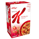 Kellogg's Special K Red Berries Cereal, 43 oz