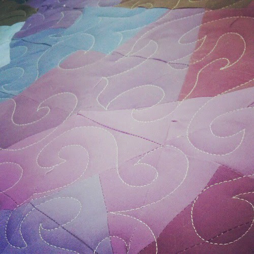 Quilting like a crazy quilting thing!