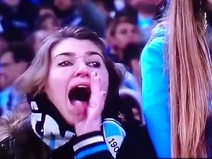 Racismo Arena do Grêmio (Foto: Reprodução/ESPN)
