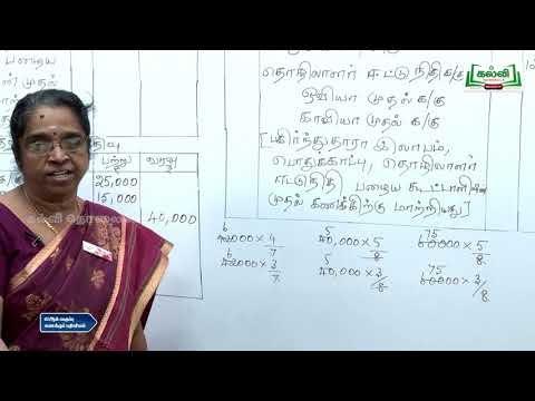 12th Maths கூட்டாளி சேர்ப்பு Kalvi TV