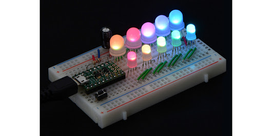 Pololu - Addressable through-hole RGB LEDs are back