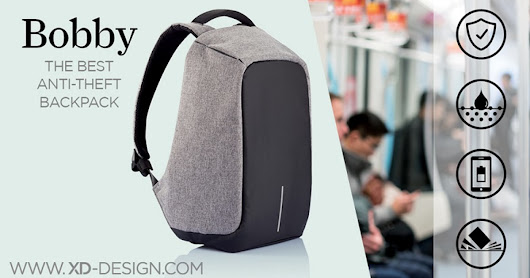 Bobby, the Best Anti Theft backpack by XD Design