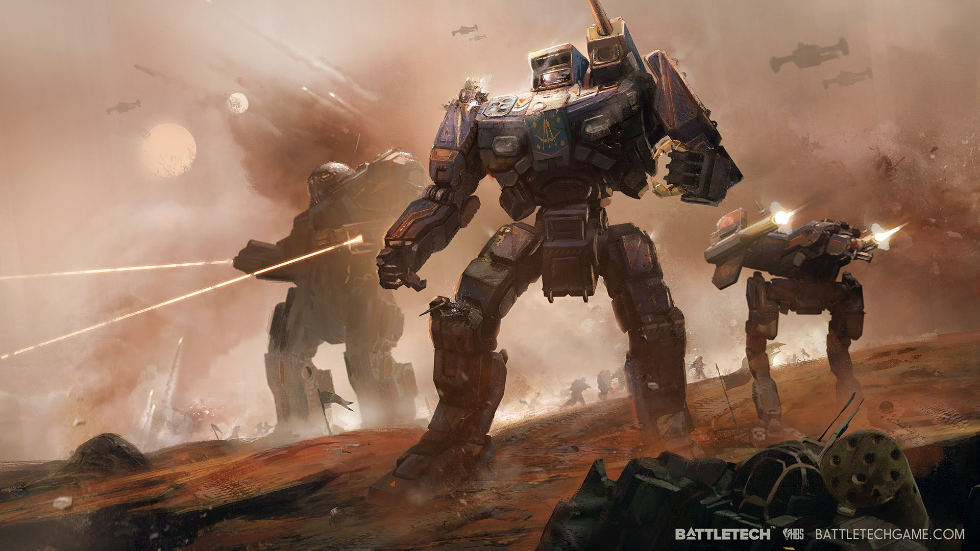 BattleTech lets you unload mech mayhem, XCOM style screenshot
