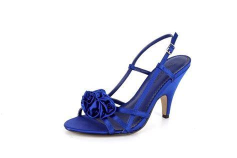Royal Blue Mid Heels   Tsaa Heel