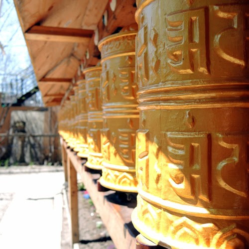 A walk around a Tibetan Monastery in Toronto by Aparita