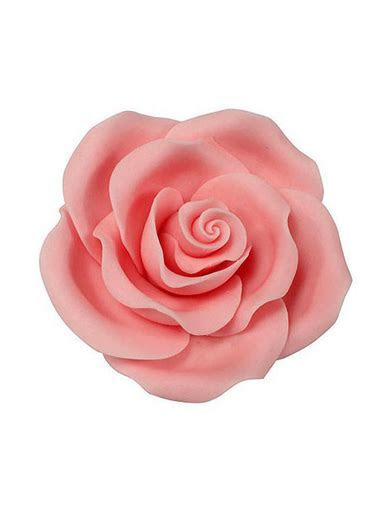 Extra Large Soft Sugar Roses   Light Pink 63mm   Box of 8