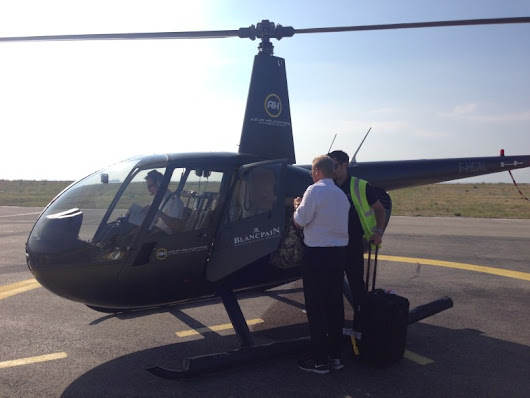 Flying with UberCopter: Because driving from Nice to Cannes is for peasants