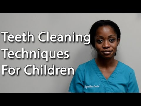 Teeth Cleaning Techniques For Children