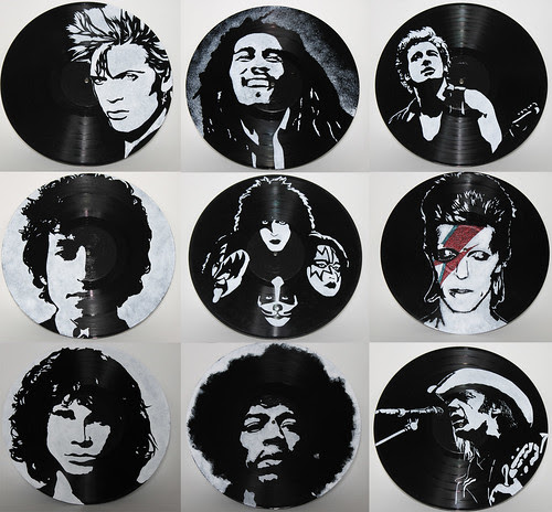 painted records