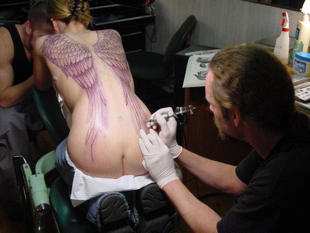 Angel Wings Tattoo
