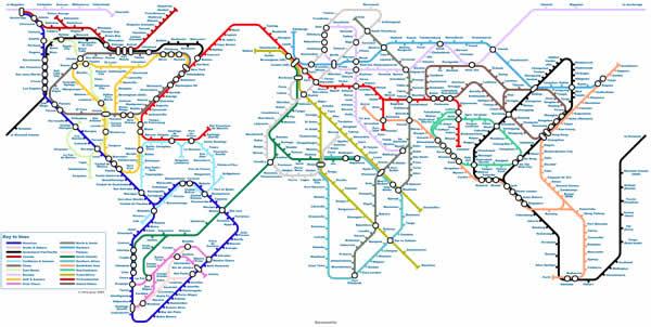 World Tube Map