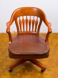 Antique Office Desk Chair