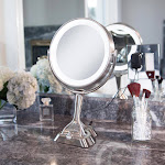 LED Variable Light Vanity Mirror with Smart Dimmer