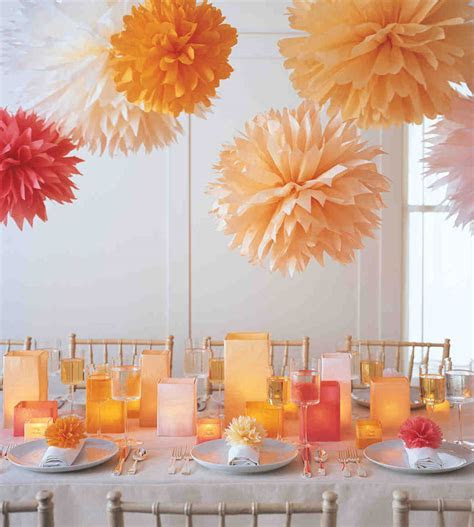 ideas for cheap wedding autumn candle centerpiece   Sang
