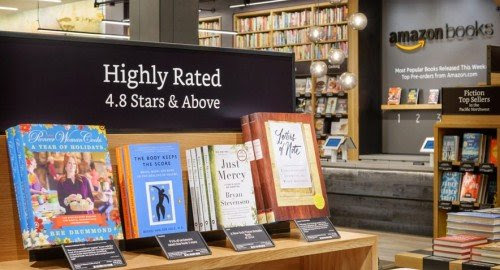 First Amazon Book Store Opens in Seattle!