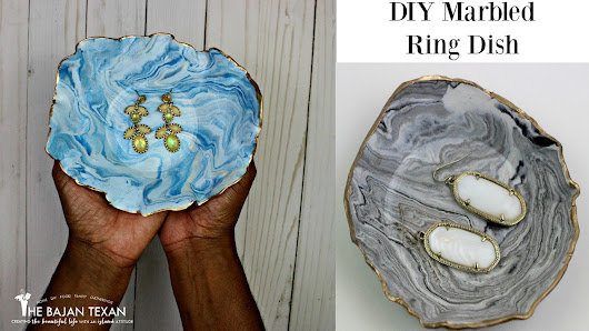 DIY Marbled Ring Dish Tutorial – The Bajan Texan