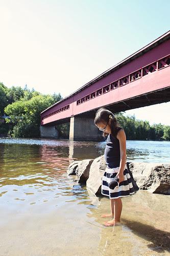 wakefield, covered bridge