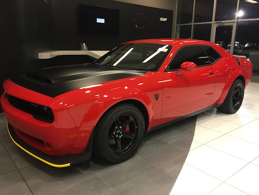New Car Preparation Package of 2018 Dodge Challenger