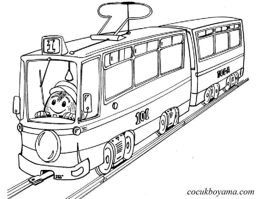 Boyama Tren Ust Ev Boyama Sayfasi