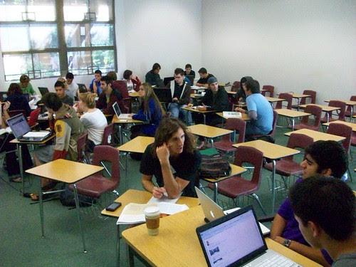 San Elijo students (Fall 2010) by Lisa M Lane, on Flickr