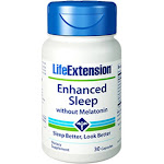 Life Extension Enhanced Natural Sleep without Melatonin - 30 Capsules