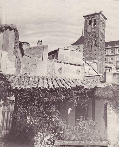 Iglesia de San Miguel en el siglo XIX. Fotografía de Casiano Alguacil