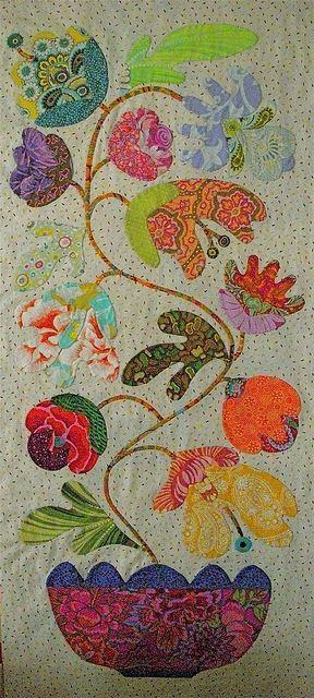 Kim McLean Flower   Pots Block