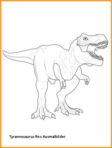 ausmalbilder dinosaurier tyrannosaurus rex  kostenlose