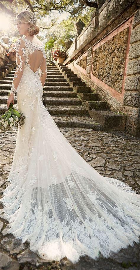 40 Breathtaking Illusion Wedding Dresses   Deer Pearl Flowers