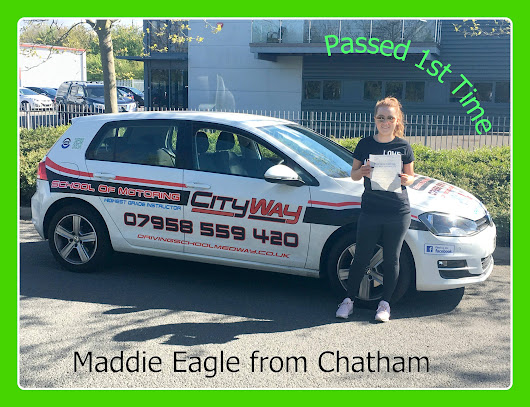 Driving Lessons Chatham | Your Route to a 1st Time Pass | Maddie Eagle